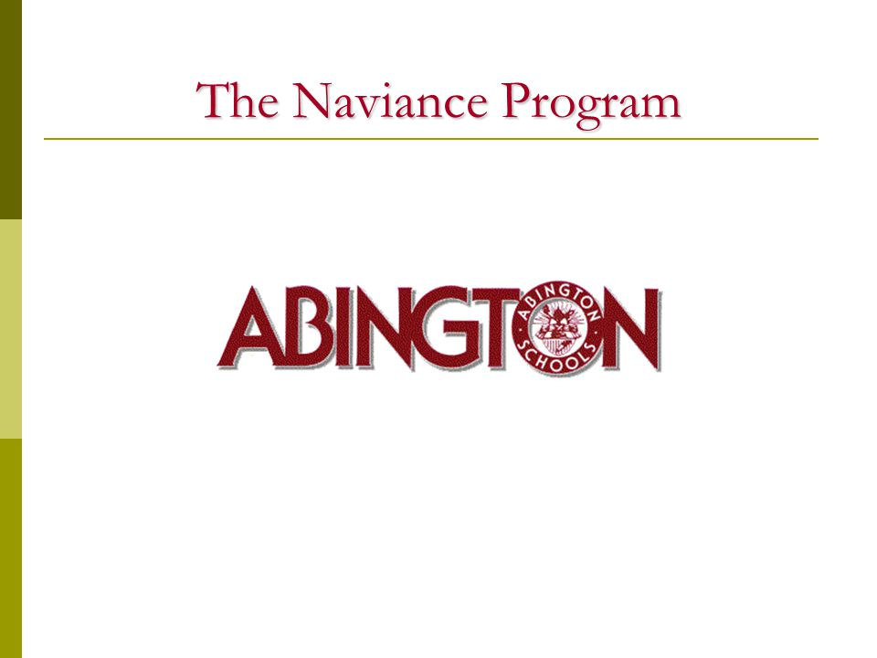 The Naviance Program