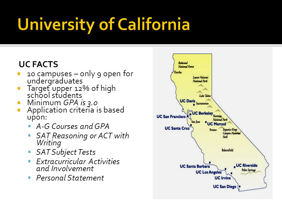  www.universityofcalifornia.edu/apply www.universityofcalifornia.edu/apply  Fall filing period is November 1–30  The University strongly encourages applicants to use the online application  Students must inform each campus of any changes to information reported on application  Students must respond to all inquiries for information from each campus