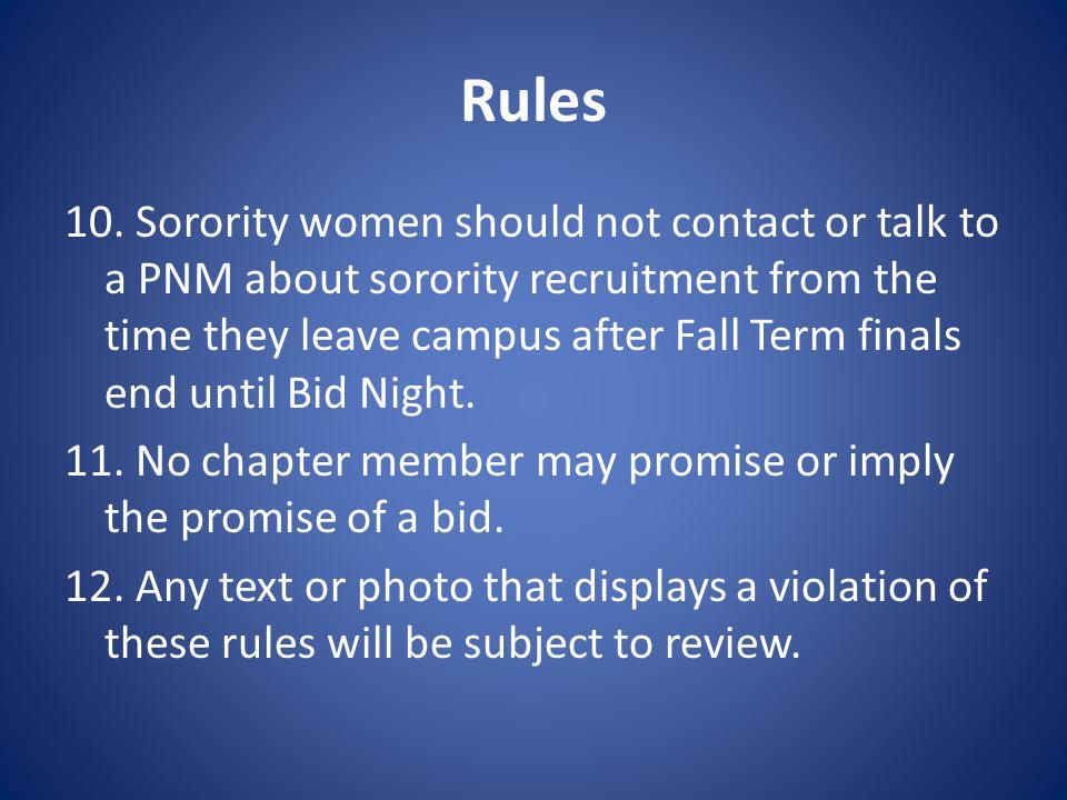 Rules 10.