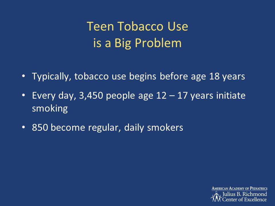 Teen Tobacco Users- 2010