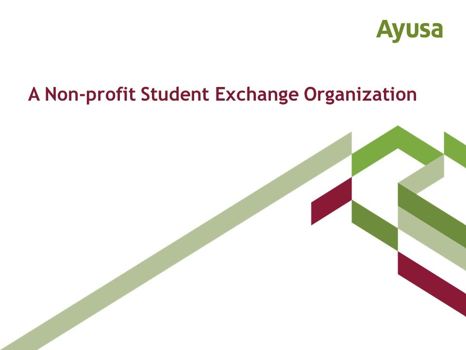 A Non-profit Student Exchange Organization