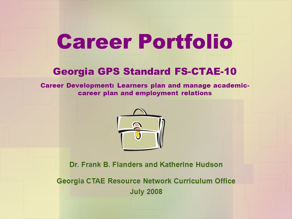 Essential Questions What is a career portfolio.How is a career portfolio beneficial.