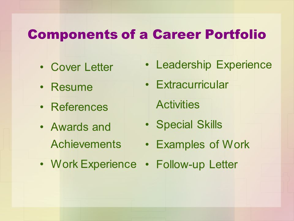 Career Portfolio Cover Page Example  Hlwhy