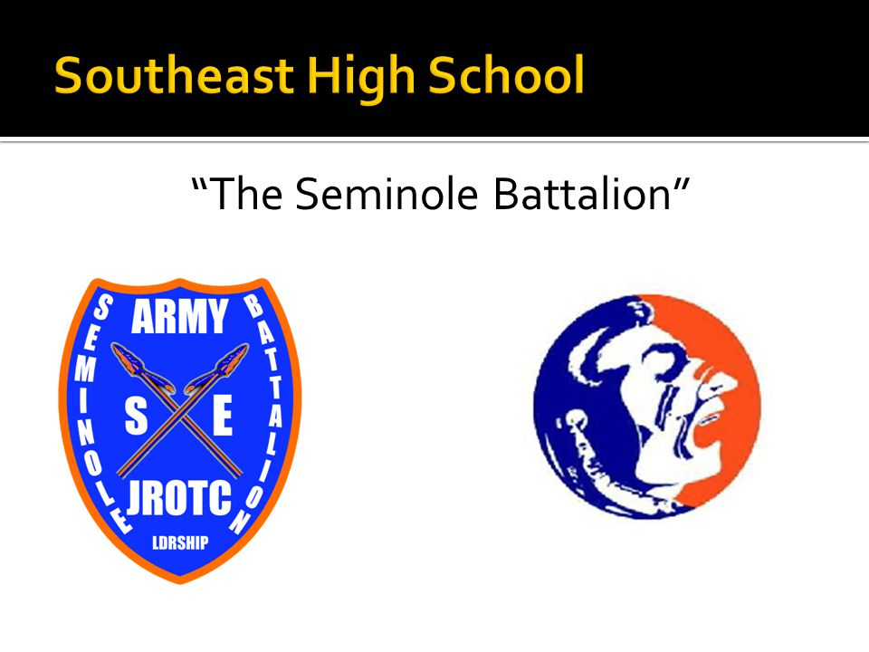 The Seminole Battalion