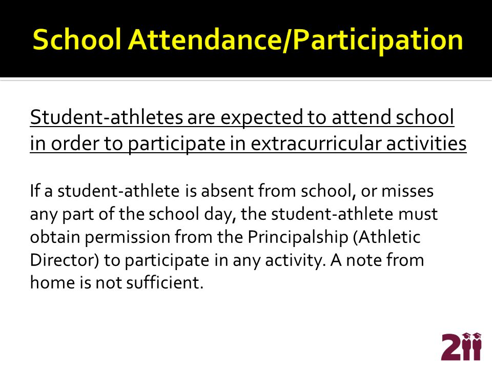 Student-athletes are required to take D211 transportation to and from extracurricular events.