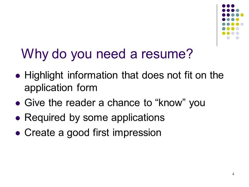 5 Types of Resumes Functional Resume Chronological Resume Hybrid Resume