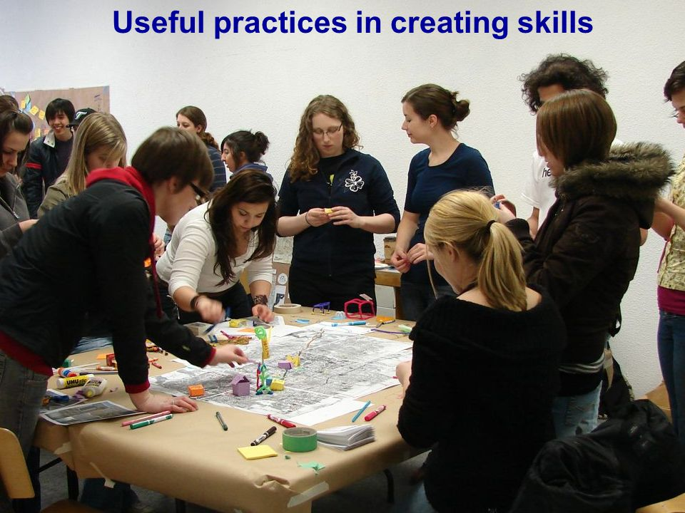 Useful practices in creating skills