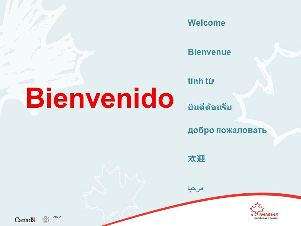 Welcome Bienvenue tính từ ยินดีต้อนรับ добро пожаловать 欢迎 مرحبا Bienvenido
