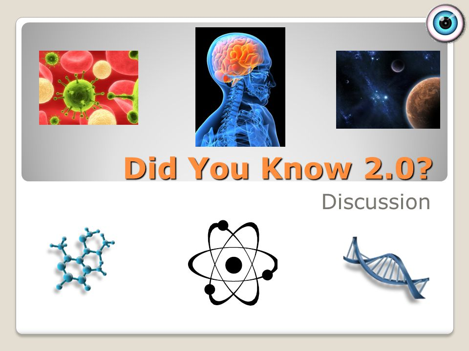 Did You Know 2.0 Discussion