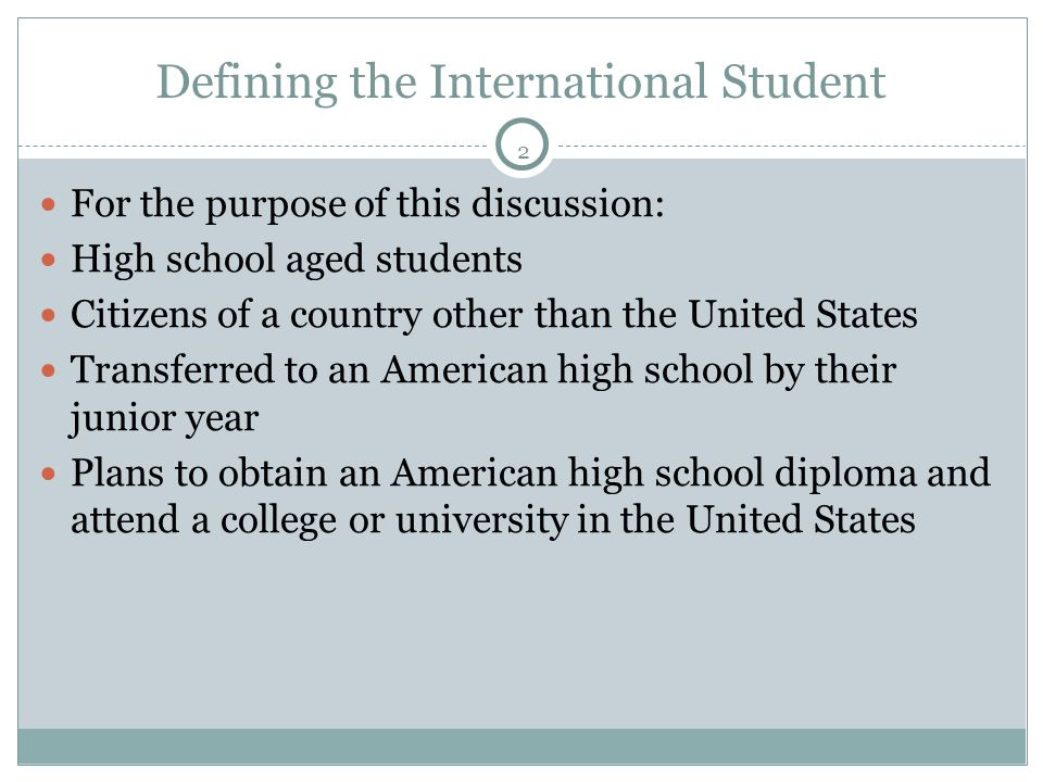 13 When Applying Get to know the international representative.