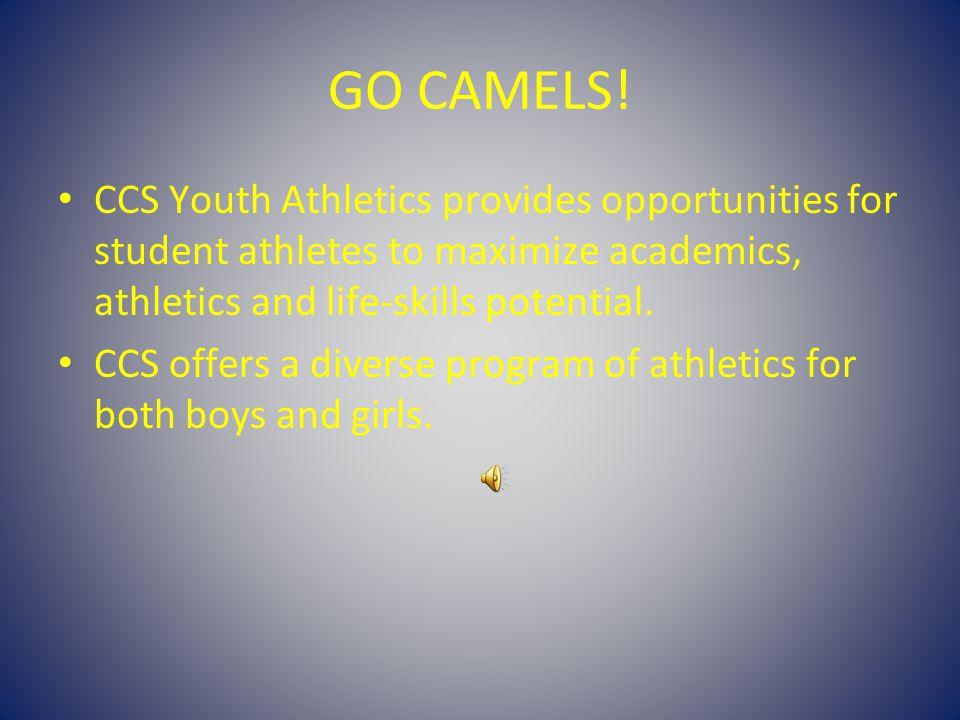GO CAMELS.