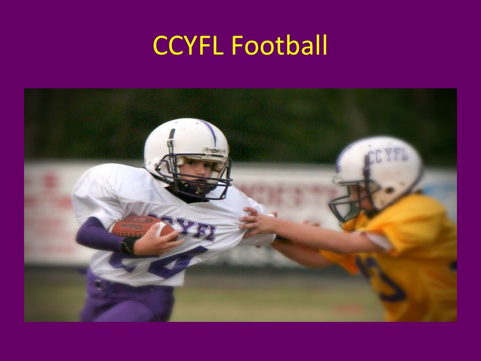 The CCYFL is a no cut organization.Every CCS student may participate.