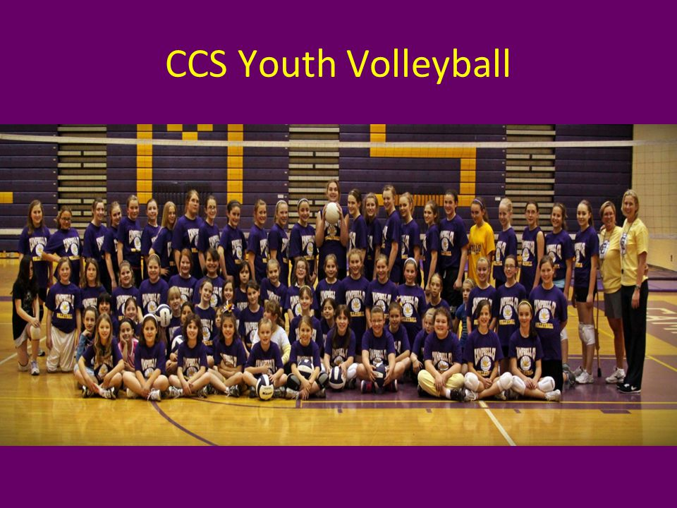 CCS offers volleyball for grades 3-5.