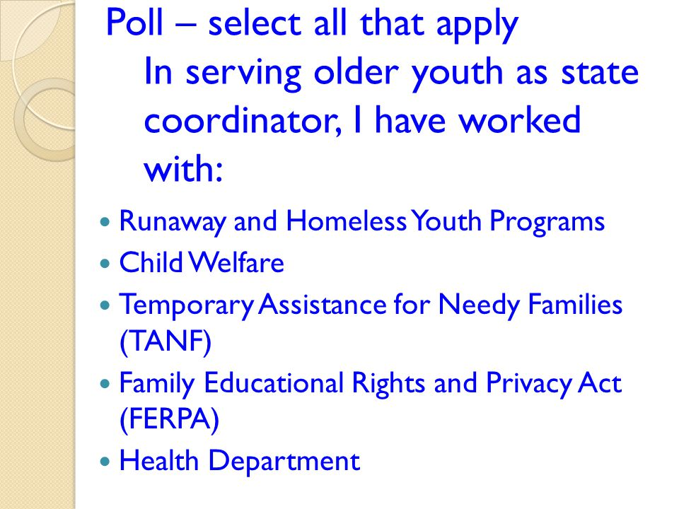 What do state coordinators need to know about their state code when serving older youth?
