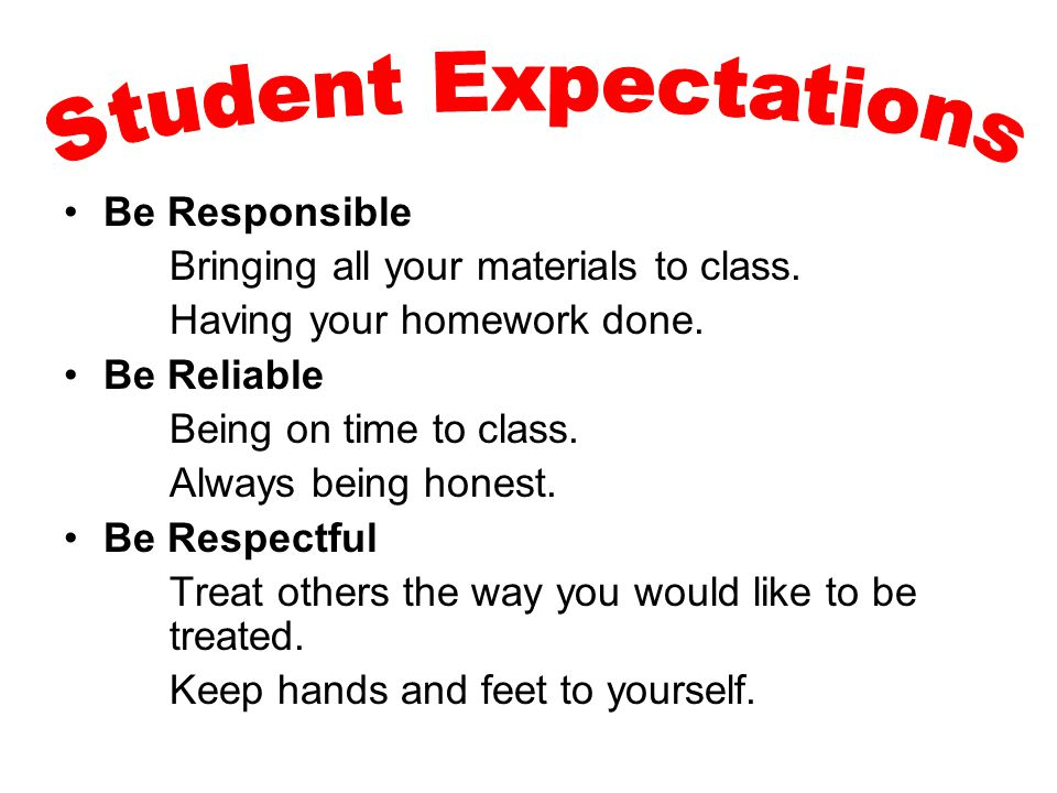 Be Responsible Differentiate Instruction Integrate Literacy Strategies Across Curriculum Maintain Instructional / Academic Focus Engage Students in Higher Level Thinking Be Reliable Continuously Communicate w/ Parents Implement School Improvement Plan Initiatives Actively Participate in the Professional Learning Community Continue to Learn & Grow Be Respectful Establish Positive Relationships Develop a Student-Centered Classroom Support and Collaborate with Colleagues Personalize the Learning Environment for Students Have Fun.