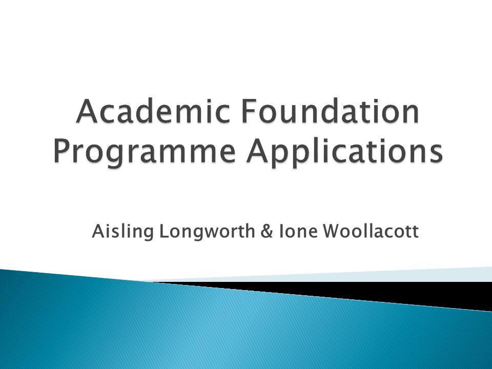Aisling Longworth & Ione Woollacott