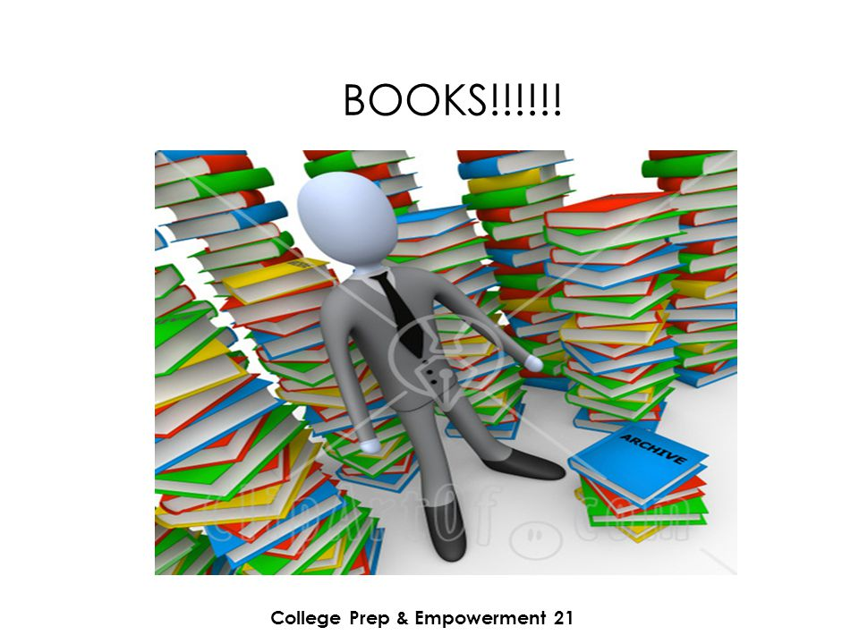College Prep & Empowerment 21 BOOKS!!!!!!