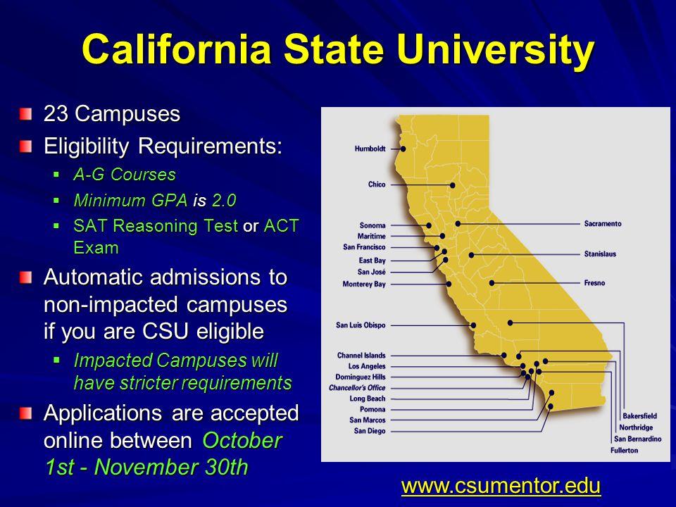 Cal State Universities