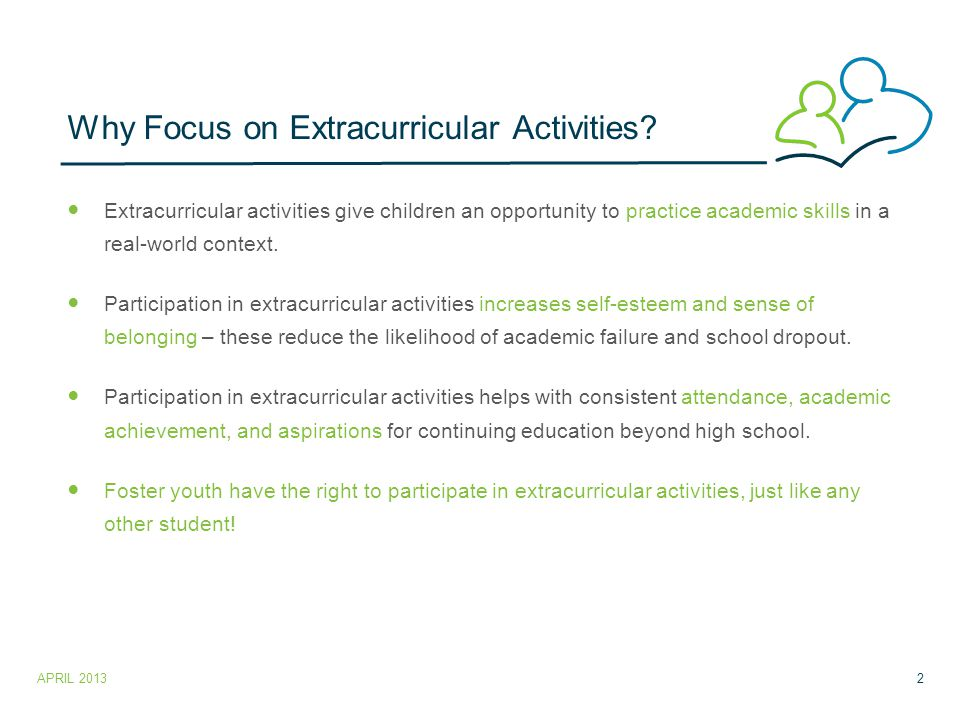 Why Focus on Extracurricular Activities.