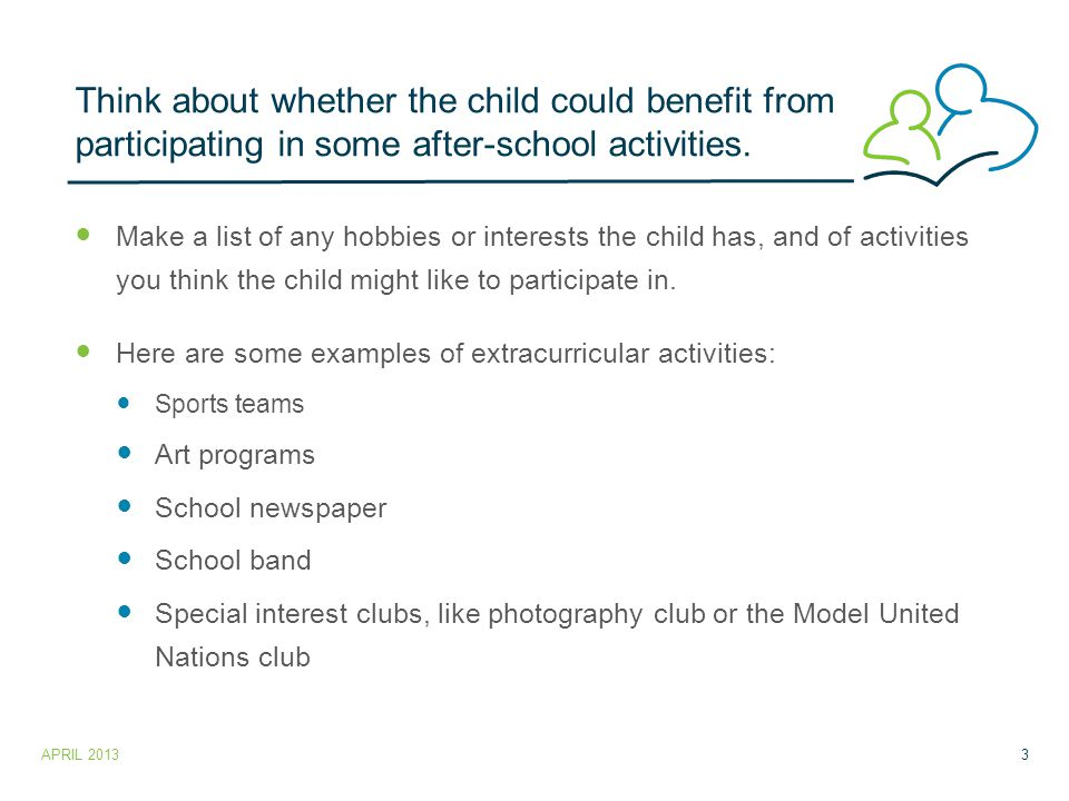 Other ways to find extracurricular activities.