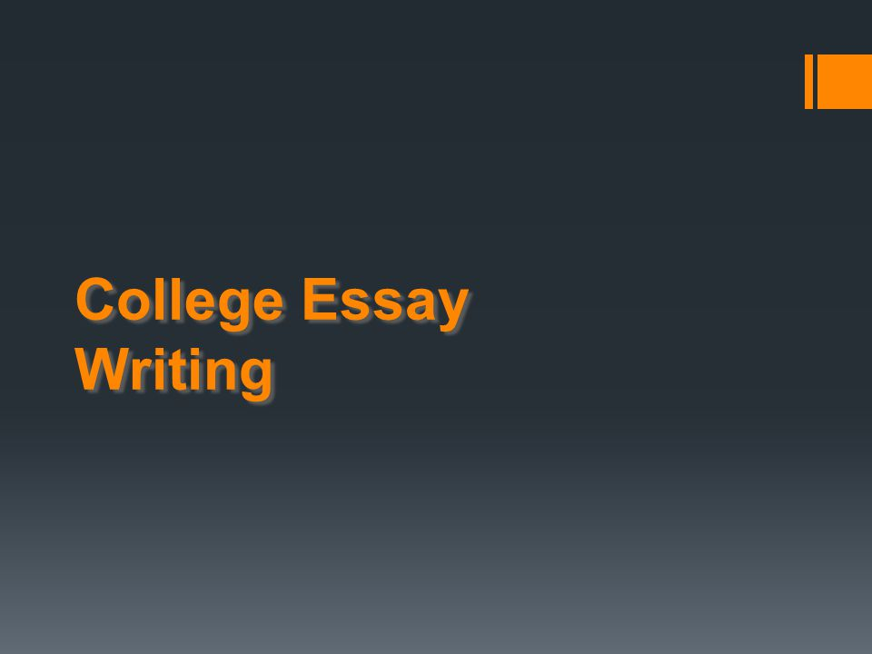 Things to Remember Make sure your essay is easily understood.