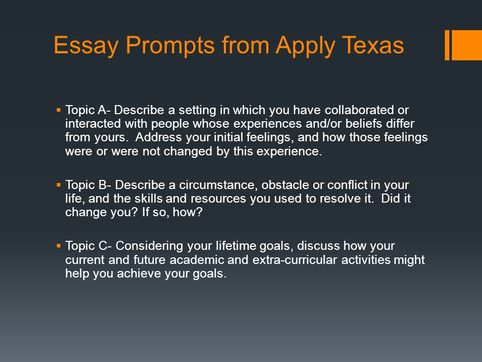 u of i essay Directions you will have 8 questions to choose from you must respond to only 4 of the 8 questions each response is limited to a maximum of 350 words.