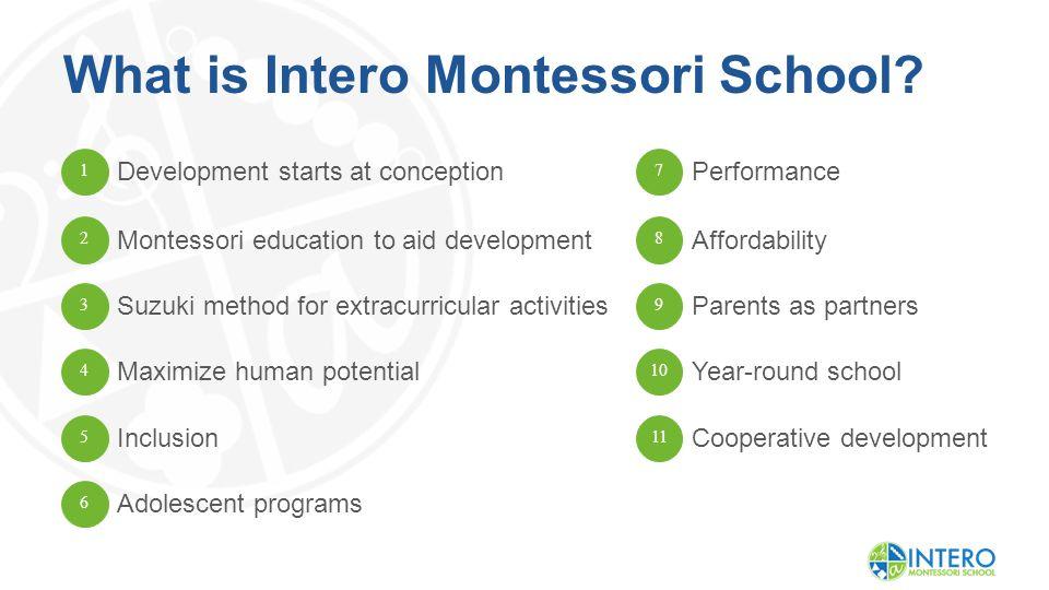 What is Intero Montessori School.