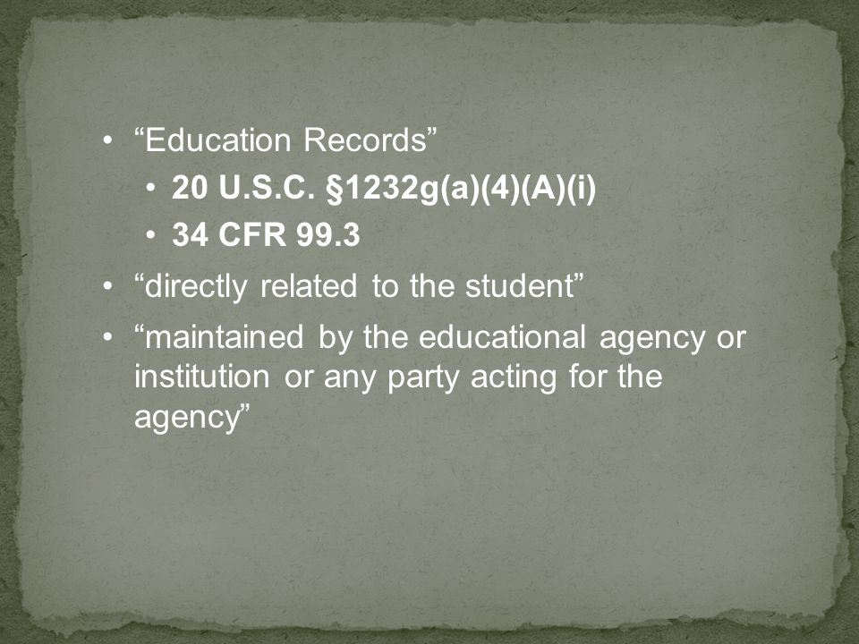 § 99.7 What must an educational agency or institution include in its annual notification.