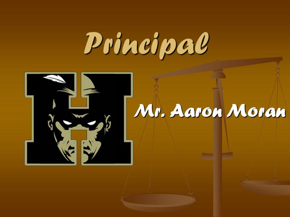 Principal Mr. Aaron Moran