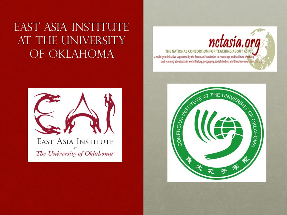 East Asia Institute at the University of Oklahoma