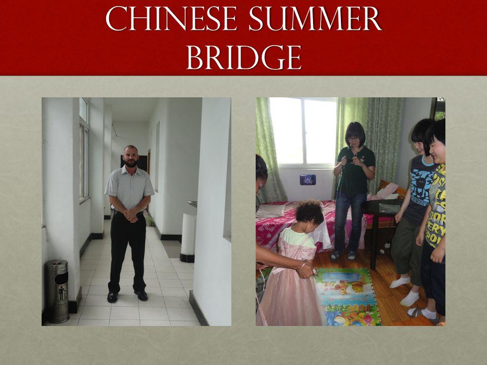 Chinese Summer Bridge