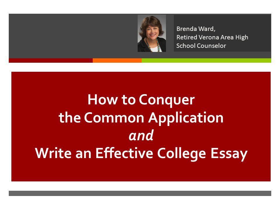 The UW-System electronic application