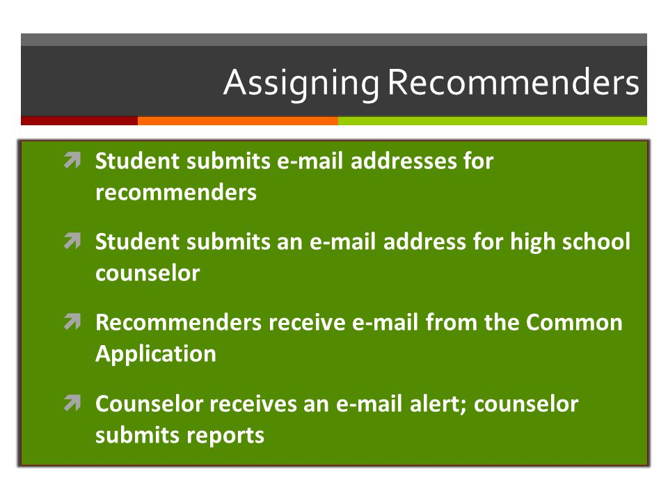 Managing Applications and Requirements  My Colleges provides essential information and requirements for all of the colleges on the student's list My Colleges  Dashboard monitors student progress toward completion of requirements for each college/university on the student's list Dashboard