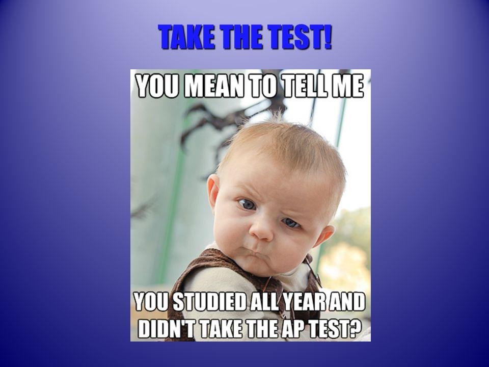 TAKE THE TEST!