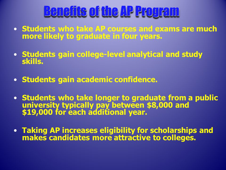 ® and Pre-AP™ The Advanced Placement Program ® and Pre-AP™ It's not just an Examination.