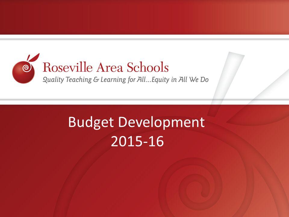 Budget Development 2015-16