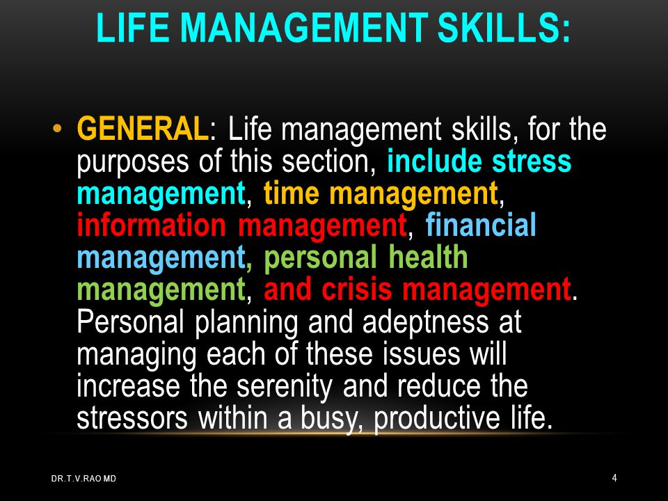 STRESS is very common Use stress in a positive way Limit NOT eliminate stress.