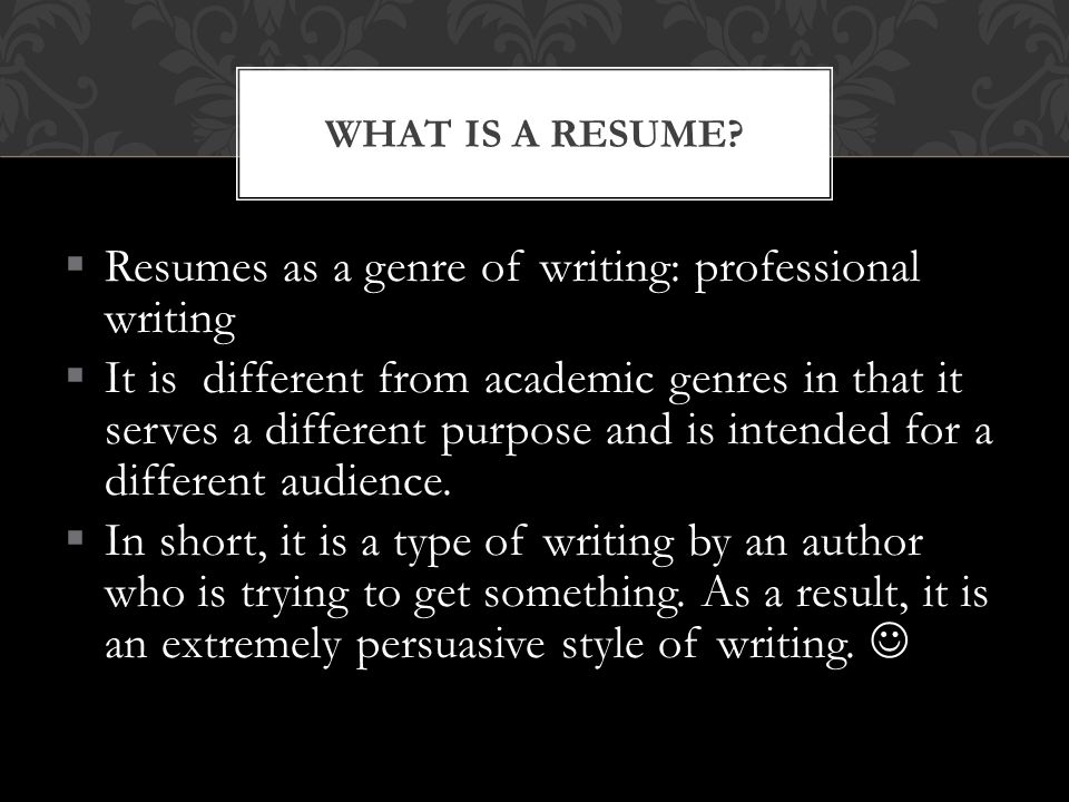 Take out the printed copies of their resumes.