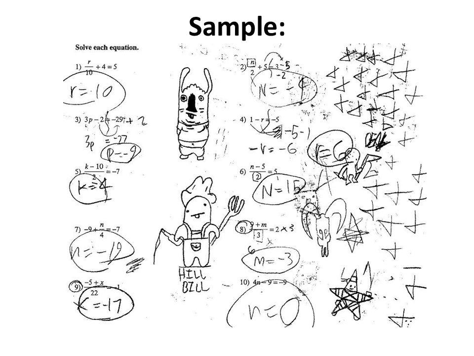 Sample: