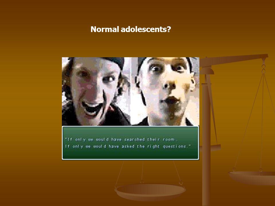 Normal adolescents