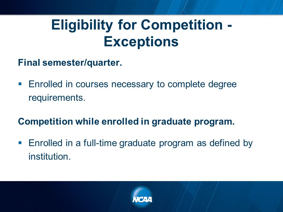 Education and Outreach Objective: Educate parties impacted by initial eligibility and two- year transfer academic standards through a variety of methods.