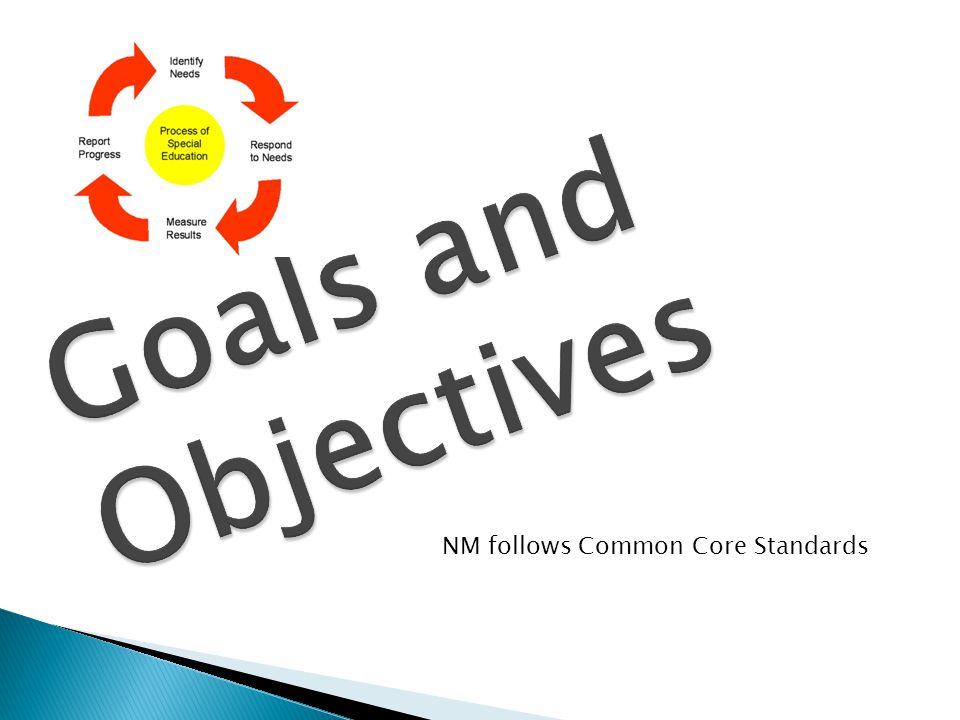 NM follows Common Core Standards