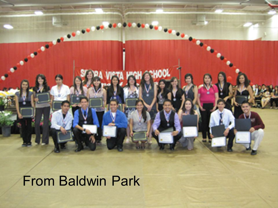 Section II Section 2 From Baldwin Park