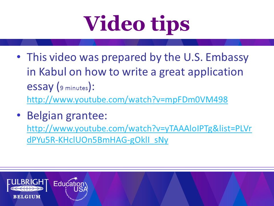 Video tips This video was prepared by the U.S.