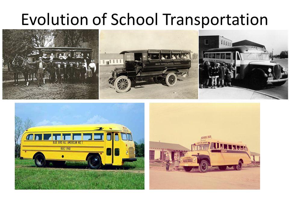 Evolution of School Transportation