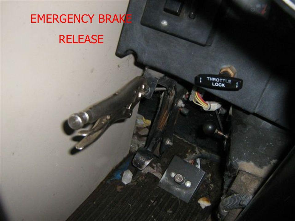 EMERGENCY BRAKE RELEASE