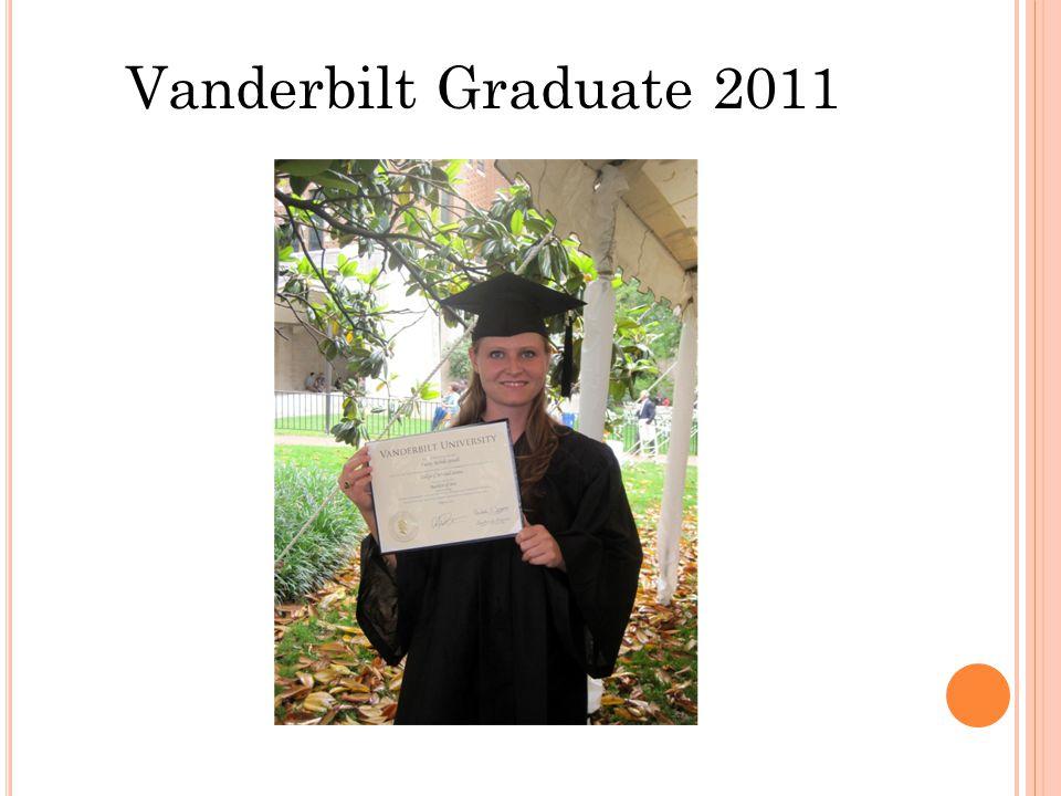 Vanderbilt Graduate 2011
