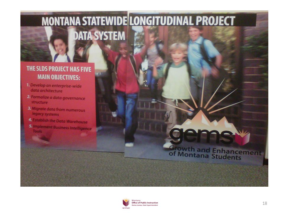 Statewide Longitudinal Data System for K-12 Education in Montana 19