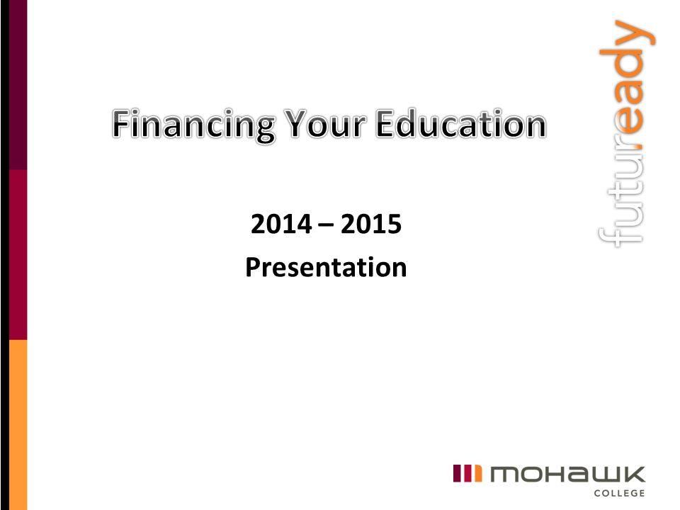 2014 – 2015 Presentation