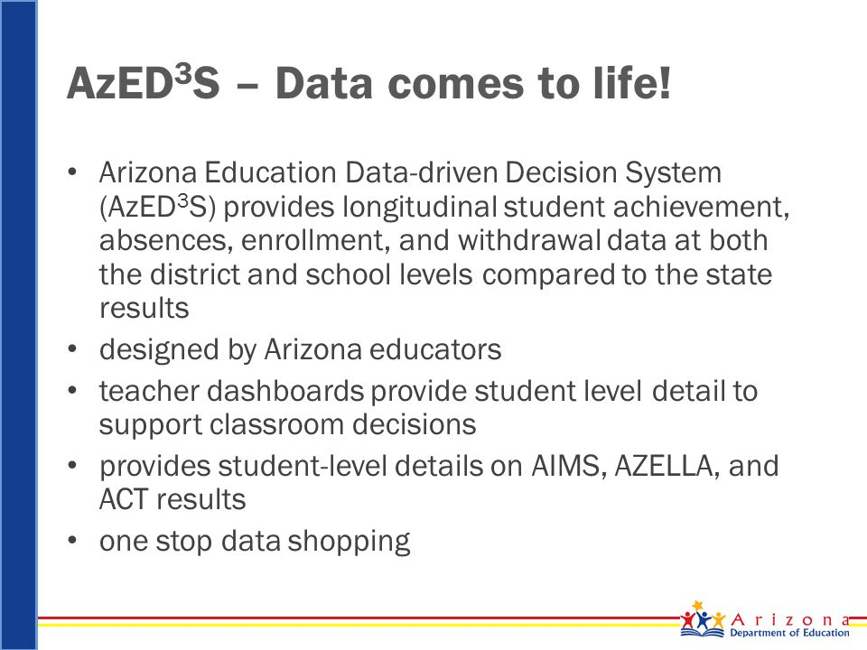 AzED 3 S – Data comes to life.